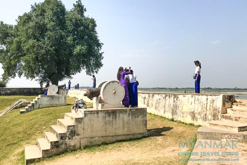 Myanmar Reisetipps | Umgebung von Mandalay | Inwa | Hsin Gyone Fort