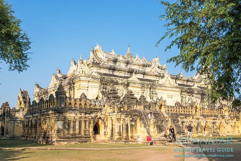 Myanmar Reisetipps | Umgebung von Mandalay | Inwa | Kloster Maha Aungmye Bonzan Kyaung