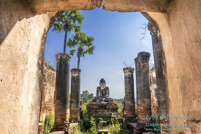 Myanmar Reisetipps | Umgebung von Mandalay | Inwa | Yadana-Hsemee-Pagodenkomplex