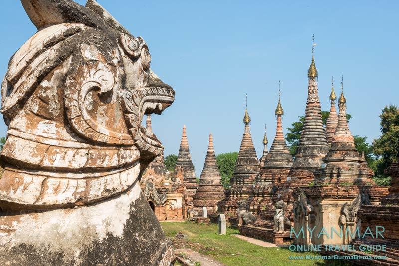 Myanmar Reisetipps | Umgebung von Mandalay | Inwa | Pagodenkomplex Khae Thin im Dorf Hanthawaddy