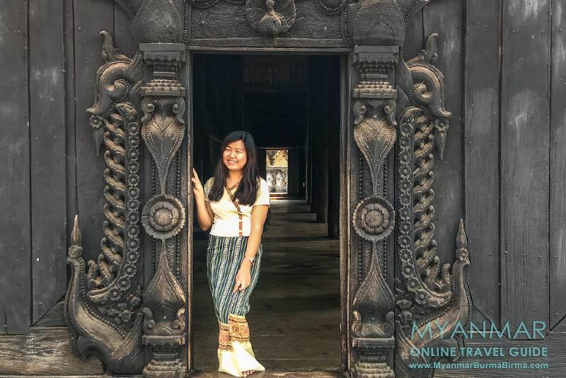 Myanmar Reisetipps | Umgebung von Mandalay | Inwa | Teakholzkloster Bagaya Kyaung