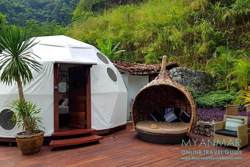 Myanmar: Das Keinnara Hpa-an Hotel und Resort ist eine der exklusivsten und teuersten Unterkünfte in Hpa-an.