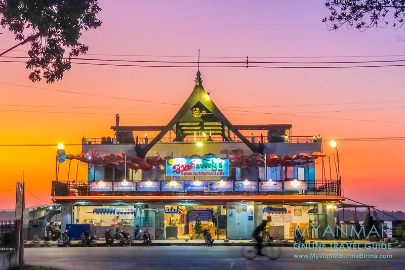 Myanmar Reisetipps | Mawlamyaing | Myanmar Tea & Thai Food Centre