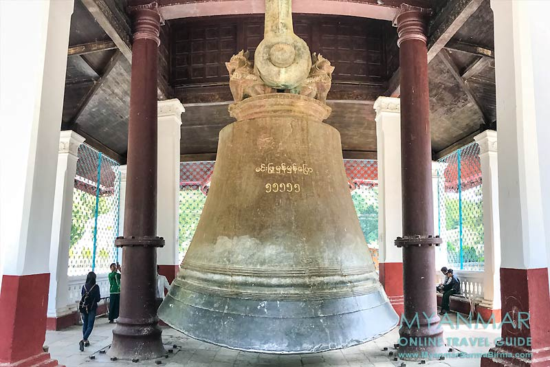 Myanmar Reisetipps | Umgebung von Mandalay | Mingun | Mingun-Glocke
