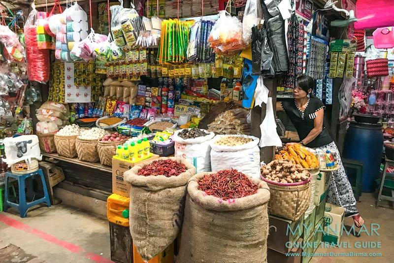 Myanmar Reisetipps | Myeik | Hauptmarkt Sibinthaya Zeigyo