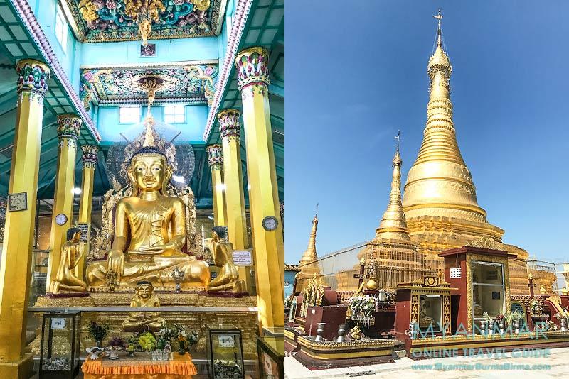 Myanmar Reisetipps | Myeik | Von der Theindawgyi-Pagode hat man einen schönen Ausblick auf Myeik und die Andamanensee.