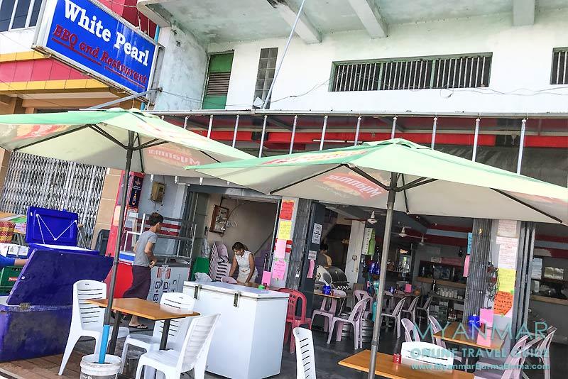 Myanmar Reisetipps | Myeik | White Pearl BBQ und Restaurant