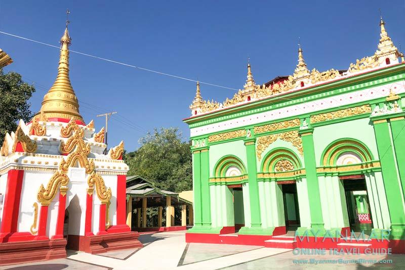 Myanmar Reisetipps | Pakokku | Innenhof der Shwe-Tan-Tit-Pagode