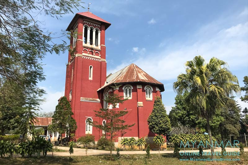 Myanmar Reisetipps | Pyin U Lwin | All Saints Anglican Church