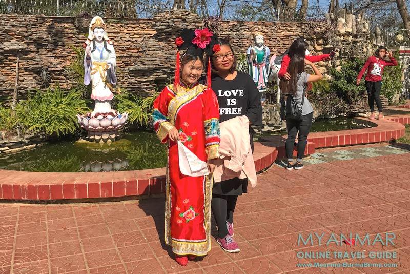 Myanmar Reisetipps | Pyin U Lwin | Chinesischer Tempel Chan Tak
