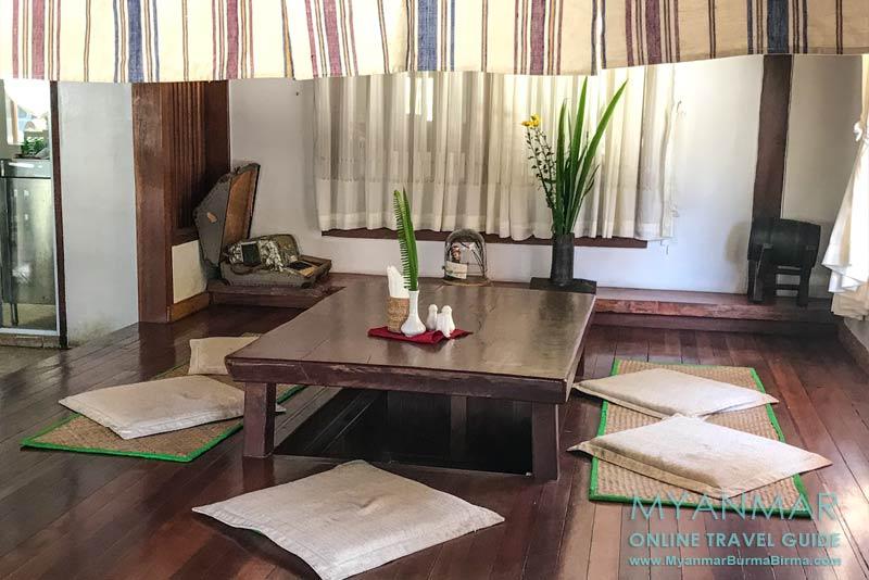 Myanmar Reisetipps | Pyin U Lwin | Restaurant im Hotel Akimomi