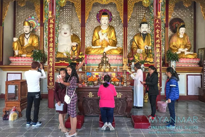 Myanmar Reisetipps | Pyin U Lwin | Heiligtum des chinesischen Tempels Chan Tak
