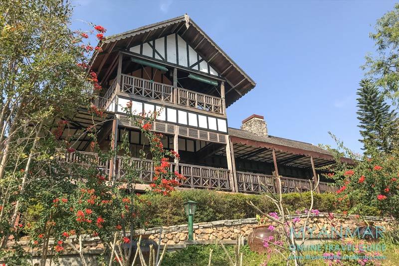 Myanmar Reisetipps | Pyin U Lwin | Hauptgebäude vom The View Resort