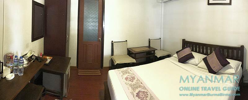 Myanmar Reisetipps | Pyin U Lwin | Zimmer im Hotel Akimomi