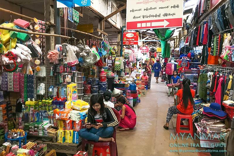 Myanmar Reisetipps | Stadt Ye | Markt am Ye-Fluss