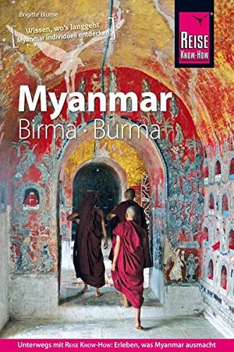 Neuste Auflage von 2020 vom Myanmar Reise Know How