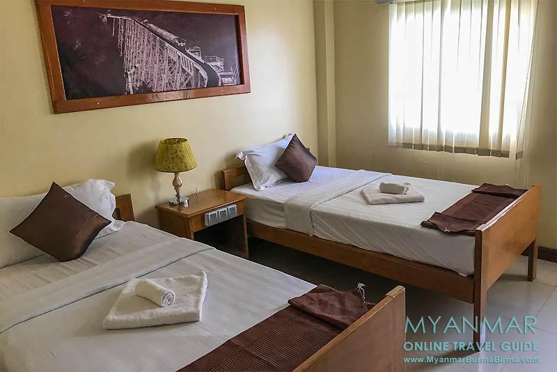 Myanmar Reisetipps | Hsipaw | Twin-Zimmer im Northern Land Hotel