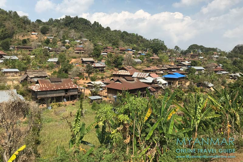 Myanmar Reisetipps | Hsipaw | In Pankam lebt die Volksgruppe der Palaung.