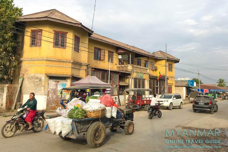 Myanmar Reisetipps | Hsipaw | Straßenszene nahe Zentral-Markt