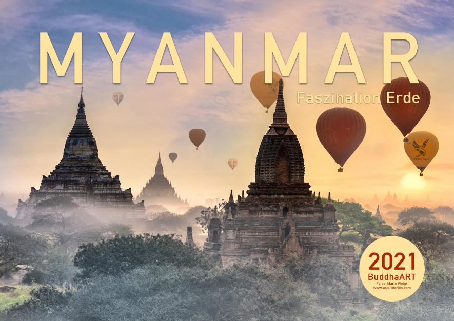 Wandkalender 2021 von Myanmar | Burma